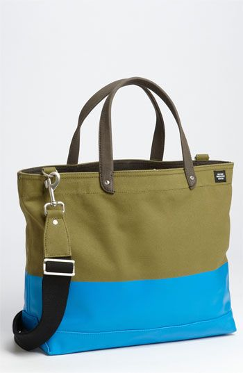 'Industrial Dipped Coal' Canvas Bag / Jack Spade