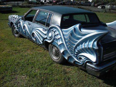 New Sport Car: Cool Car Paint Jobs