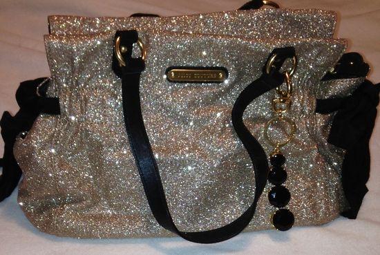 Juicy Couture glitter handbag?