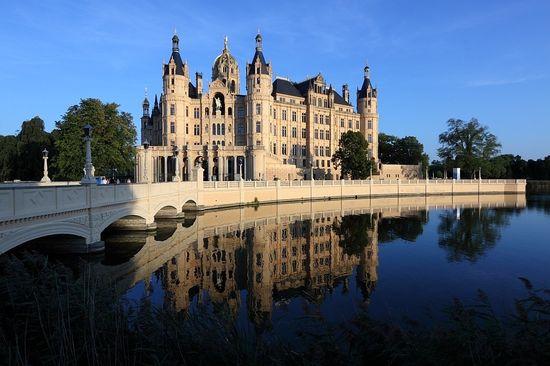 Schwerin Castle, hom