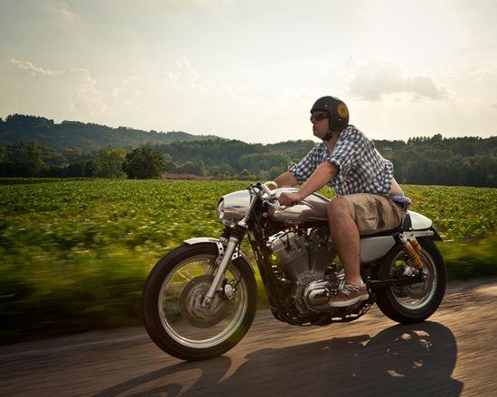 Harley Sportster - DKMotorrad - Pipeburn - Purveyors of Classic Motorcycles, Cafe Racers & Custom motorbikes