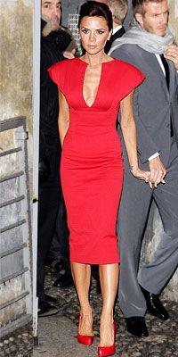 Victoria Beckham wearing Victoria Beckham Dresses