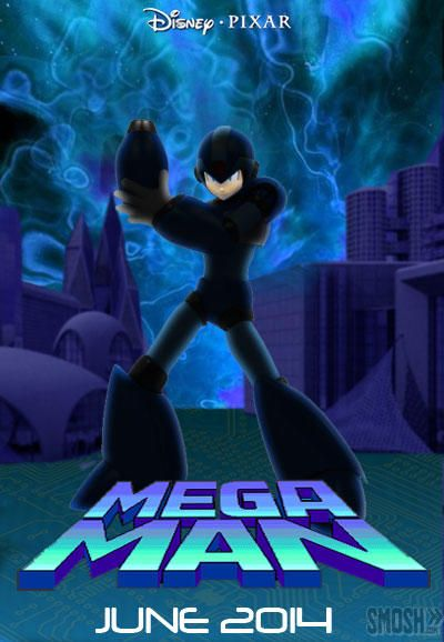 video game movie poster megaman
