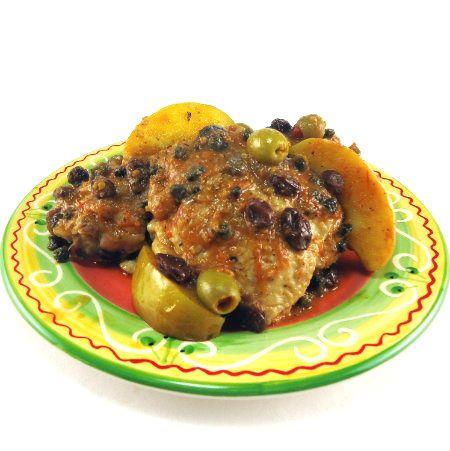 Pebre de Pollo - Chicken in a Sweet-Tart Sauce