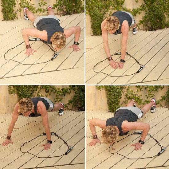 Jackie Warner's Jump Rope workout .. Not what you think.. creative.