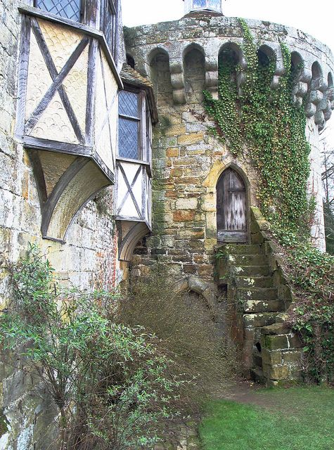 A view of the Medieval castle in Kent, England. One of the most romantic ruins in the country.