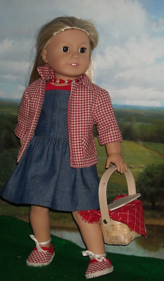 Jumper, Tee, Jacket, and Espadrilles for 18 inch Dolls