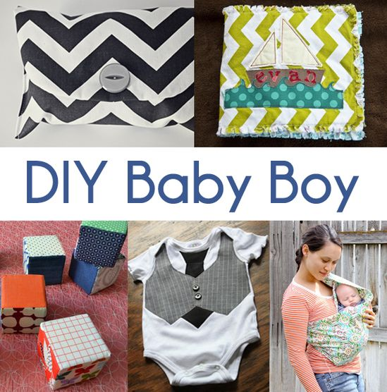 Baby Boy Gift Ideas Sewing : Diy baby boy gifts we know how to do it