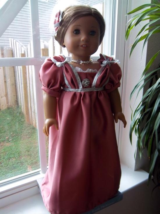 Regency (Jane Austen) era ballgown and fascinator. $25