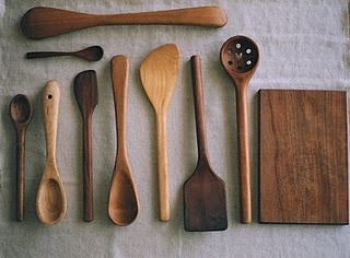 I ? wooden spoons.