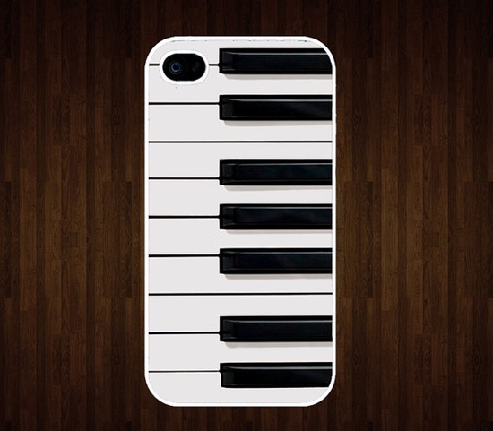 Piano Keys  iPhone 4 Case iPhone 4s Case iPhone 4 von BonnieGift, $8,99