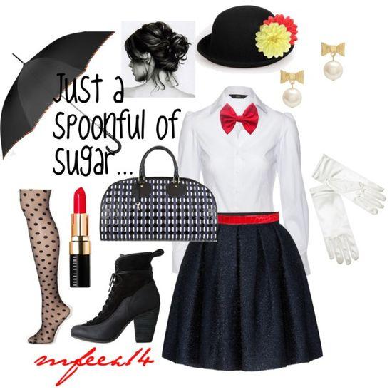 """DIY Halloween"" Mary Poppins"