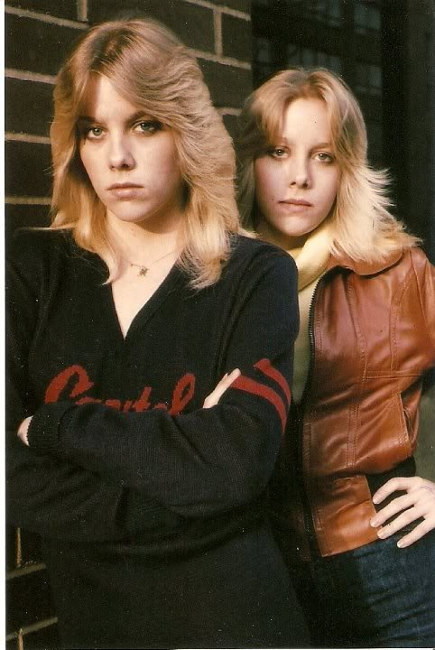 Cherie Currie And Marie Curie