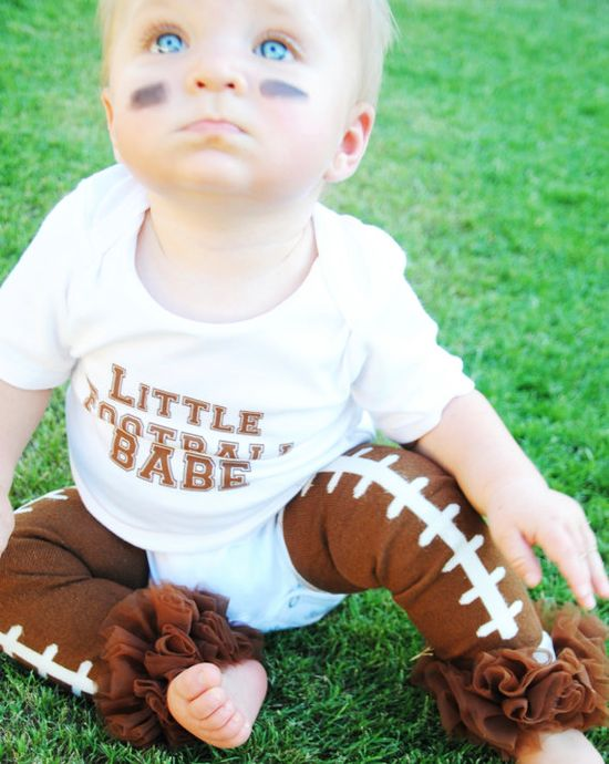 Baby Football Legwarmers! Perfect for game day for babies!! Only $12.00