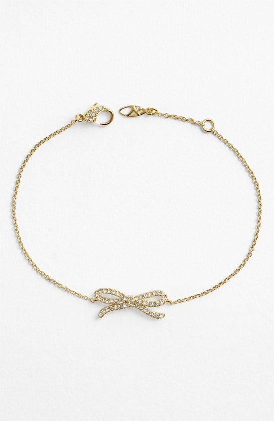 So pretty: Nadri Bow Bracelet