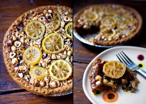 Lemon Hazelnut Pie by smithratliff #Pie #Lemon_Hazelnut_Pie