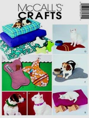 PET BED Sewing Pattern - Dogs Beds Toys Collar Dog - OOP & last one