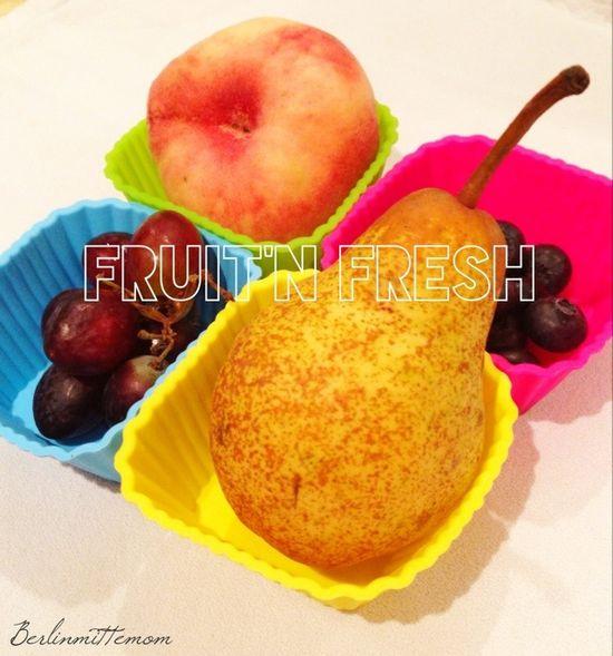 fresh fruit for kiddo's lunchbox
