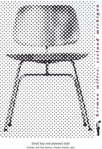 :: vintage Herman Miller ad / Eames ::
