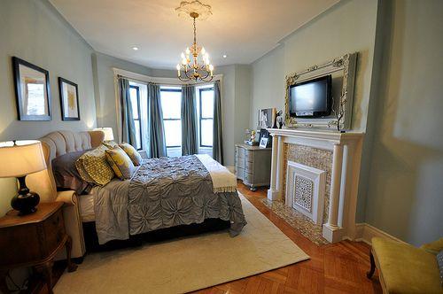 Love this bedroom @A Brooklyn Limestone In Progress