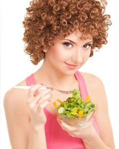 Healthy foods for healthy curls
