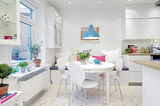 Swedish apartment with colorful and charming decoration - Modern Home Design Ideas - lakbermagazin