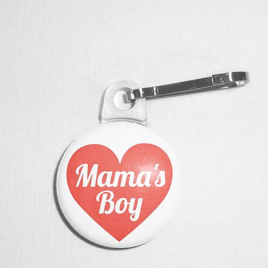 Pet Tag -  Mama's Boy