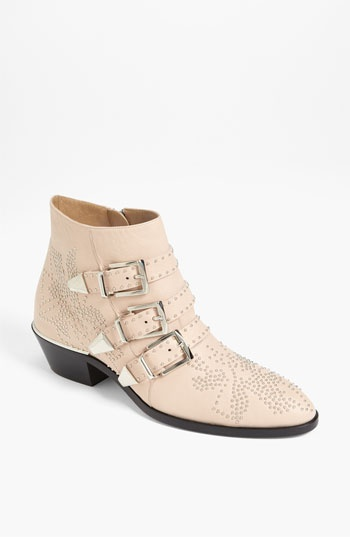 Chloe ~ Suzanne Stud Buckle Bootie (3 colors) #Nordstrom #shoes