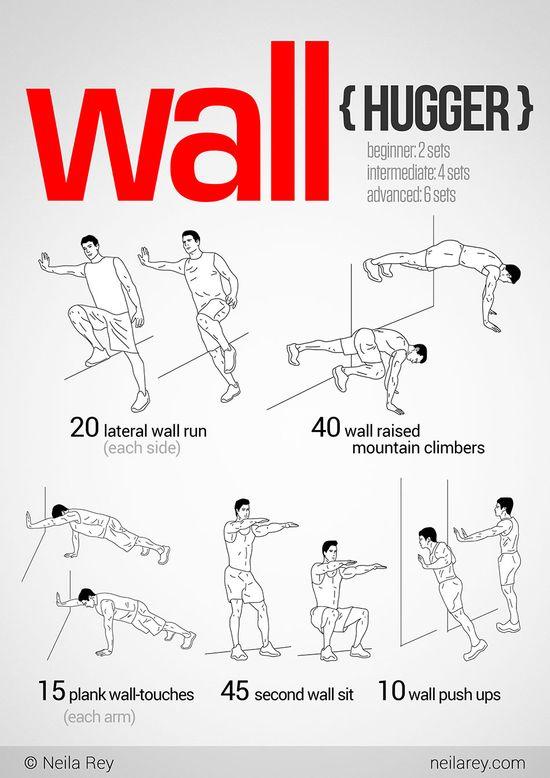 WallHugger Workout