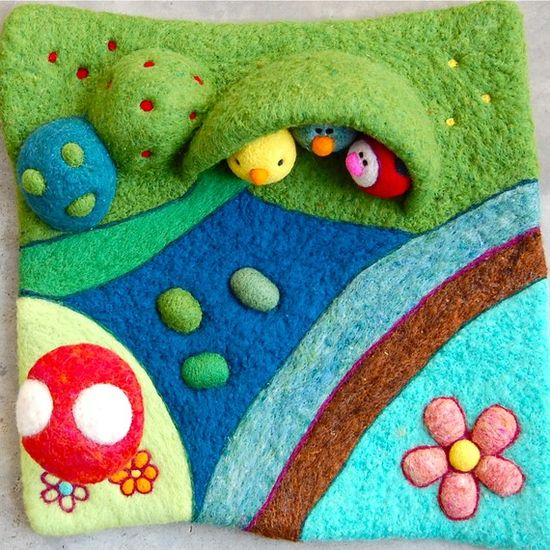 lovely playscape / felt