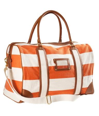 preppy duffel bag