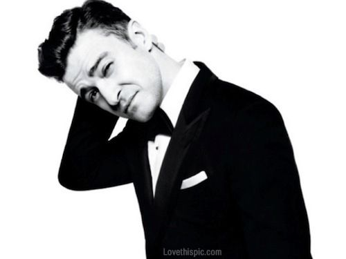 Justin Timberlake black and white hot guys male celebs celebrities music