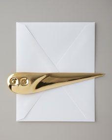 Jonathan Adler Owl Letter Opener