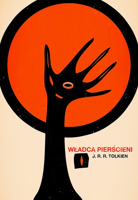 Bas Alberts, The Lord of the Rings - Polish Book Cover