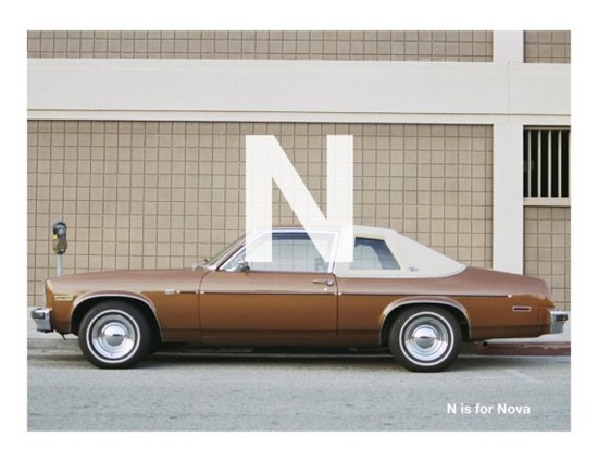 N is for Nova. #classic #cars #brown