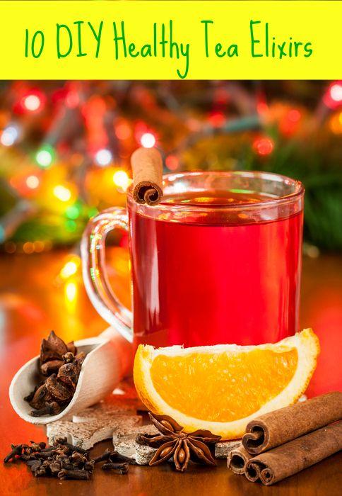 10 DIY Healthy Tea Elixirs