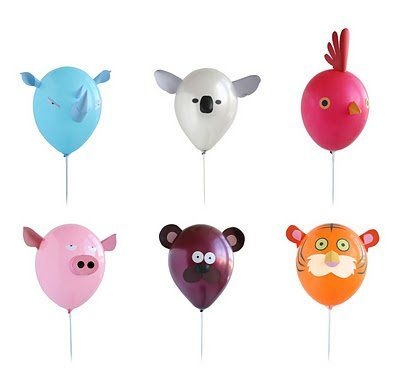 Air Heads Animal Party Balloons $10