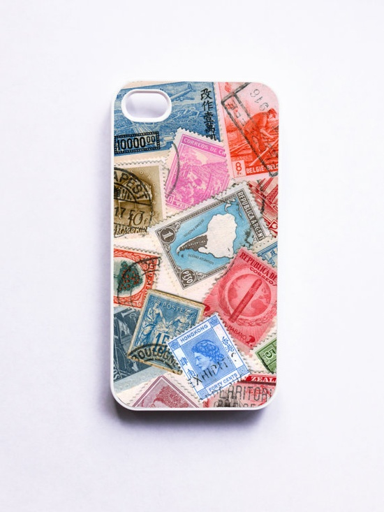 Stamps of the World iPhone 4 Case