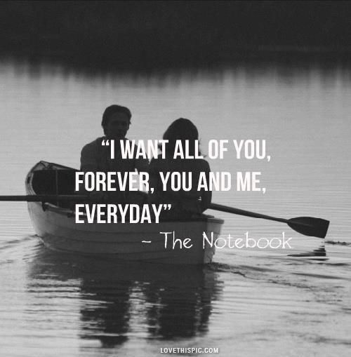 Awesome Inspiration Quotes: I Want All Of You Love Quotes
