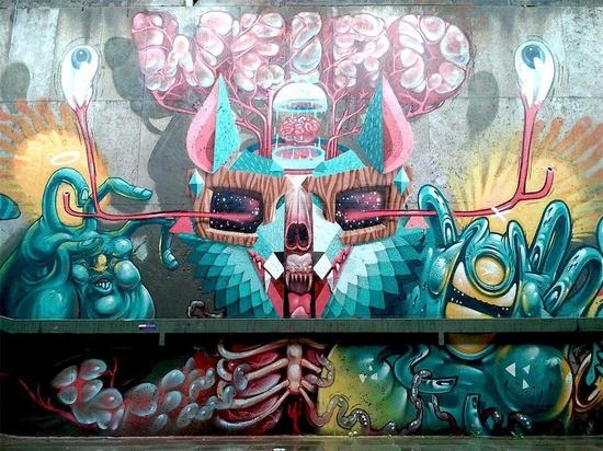 Artists: The Weird  City: München #streetart