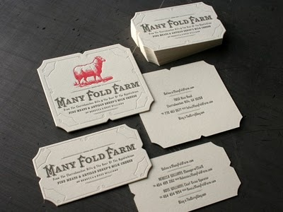 super neat business cards