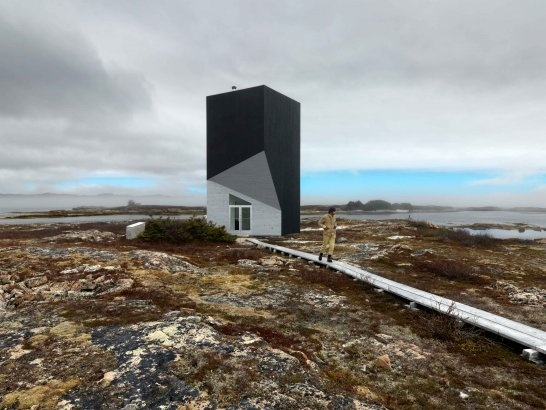 tower studio, saunders architecture, newfoundland