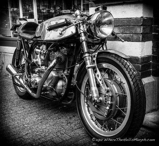 Stunning Triumph Cafe Racer.