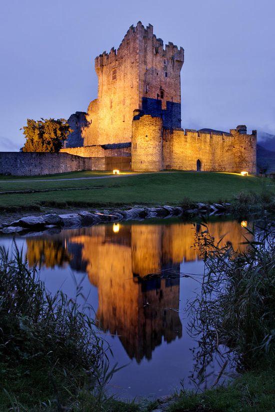 Ross Castle - Killarney, Ireland