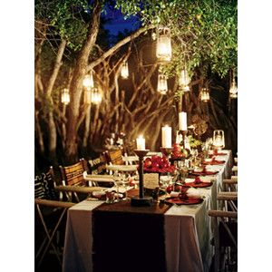 enchanted forest wedding table