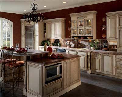 Lindsay Maple Oatmeal Glaze Luxury Kitchen Interior Design