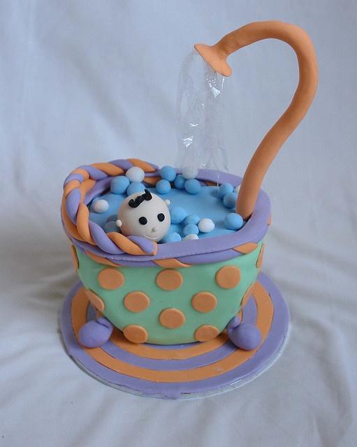 Baby shower cake ~ so cute!