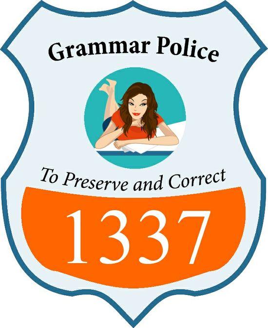 112 Captain Of The Grammar Police Ideas Grammar Grammar Police Bones Funny