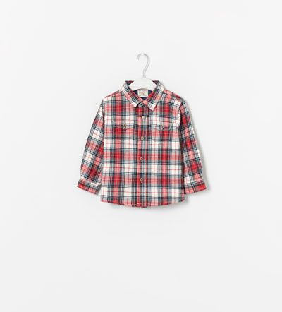 Plaid Shirt >>> 7 Must-Have Baby Boy Finds From Zara