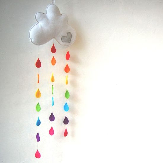 raining rainbows!